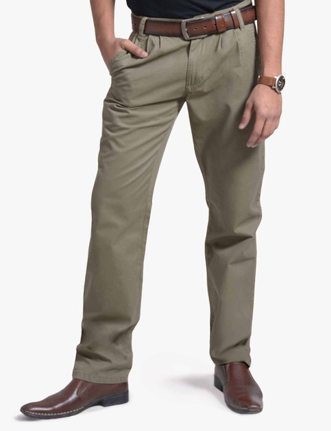 Mens Chino Pants Pleated Front - orangeshine.com