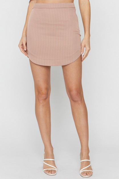SHIRTTAIL MINI SKIRT - orangeshine.com