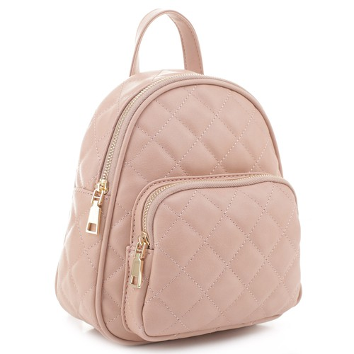Classic Quilted Backpack - orangeshine.com