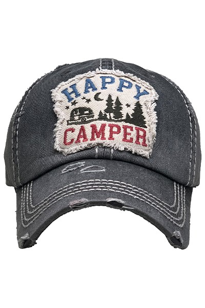 Happy Camper Hat - orangeshine.com