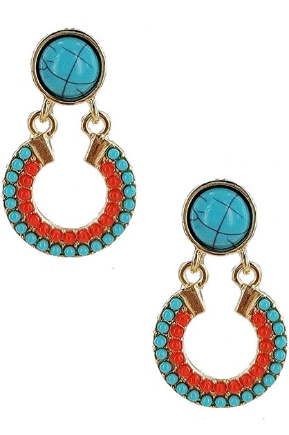 Bohemian Style Dangle Earring - orangeshine.com