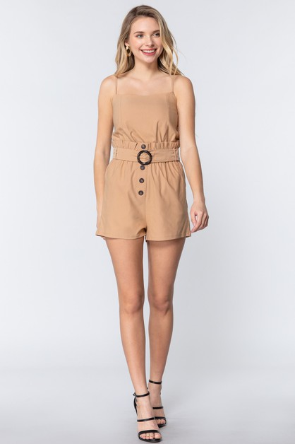Shorts Romper Waist Belt - orangeshine.com