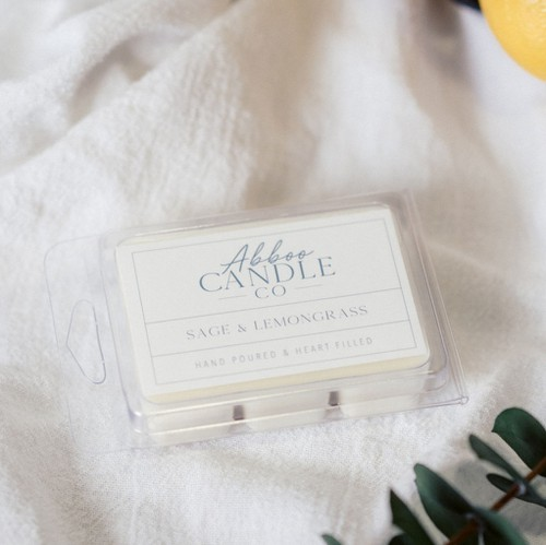 Sage Lemongrass Soy Wax Melts - orangeshine.com