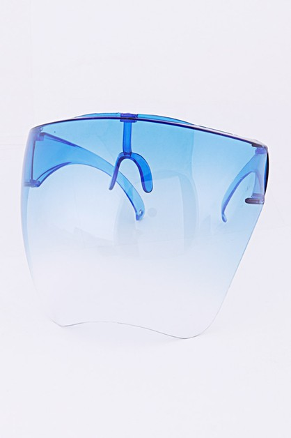 Face Shield Statement Sunglasses Set - orangeshine.com