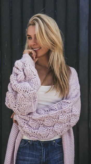 Knit Cardigan - orangeshine.com