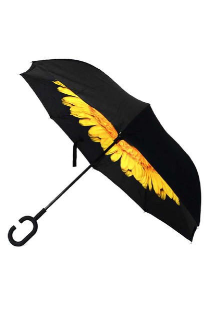 Yellow Flower Double Layer umbrella - orangeshine.com