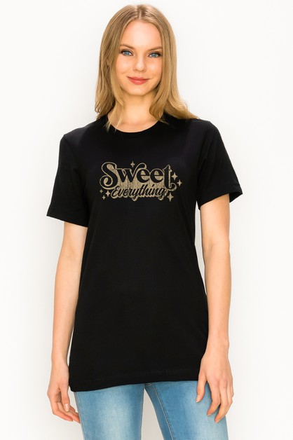 shor sleeve with BE YOURSELF T-Shirt - orangeshine.com