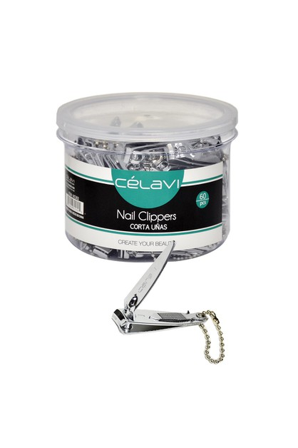 CELAVI NAIL CLIPPERS IN A JAR 60PC - orangeshine.com