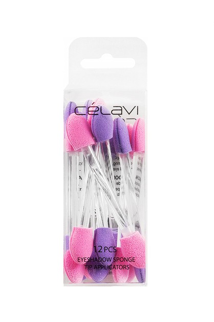 CELAVI 12PC EYE SHADOW APPLICATOR - orangeshine.com
