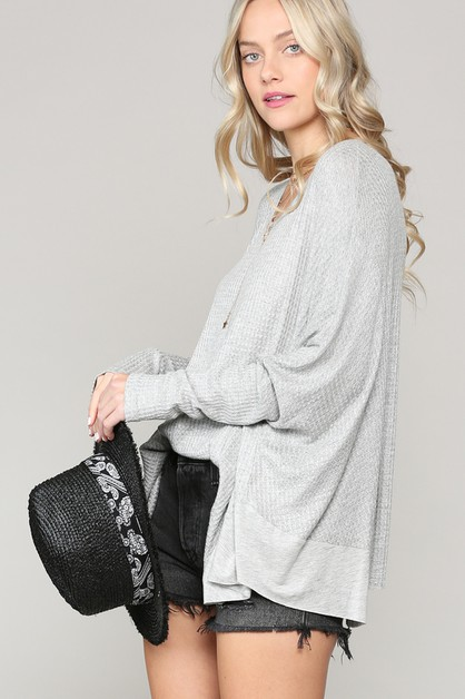OVERSIZE THERMAL TUNIC - orangeshine.com