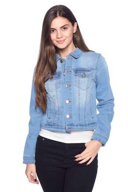 Jean Jacket - orangeshine.com