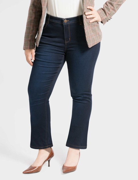 Womens Plus Size Stretch Denim Pants - orangeshine.com