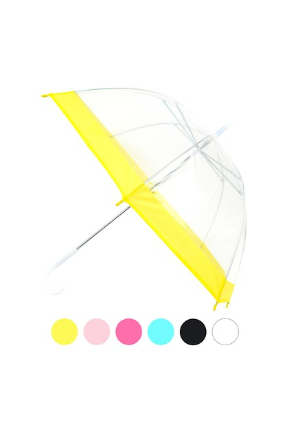 Petite See-Thru Clear Umbrella - orangeshine.com