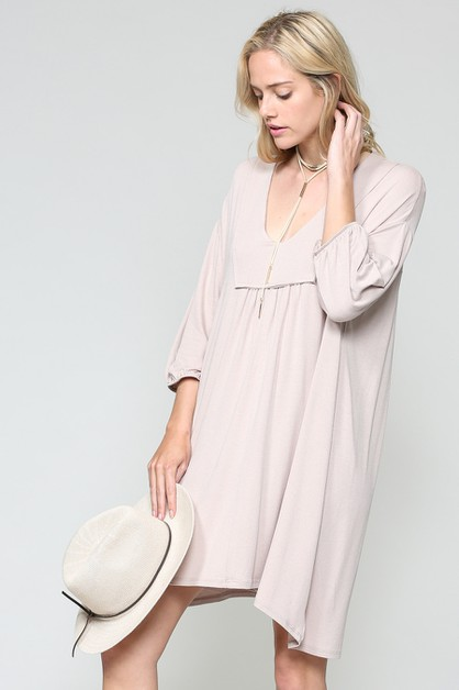 HI-LOW CASUAL DRESS - orangeshine.com