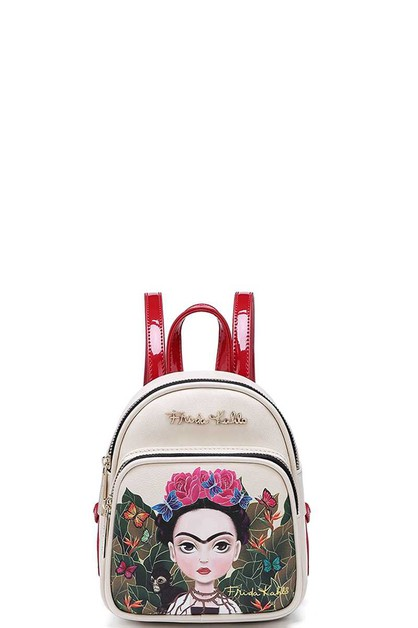 Frida Kahlo Mini Backpack - orangeshine.com
