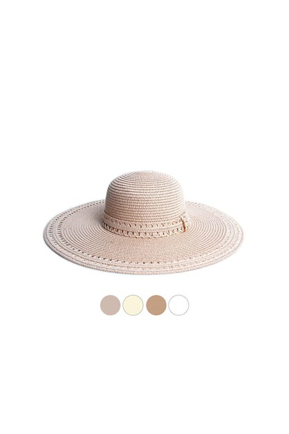 Womens Wide Brim Floppy Hat - orangeshine.com
