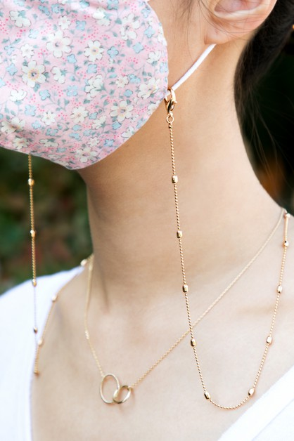 Brass Magic Chain Holder Necklace - orangeshine.com