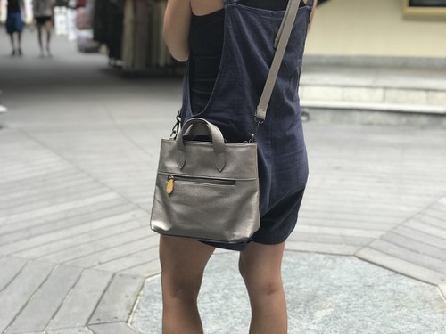 Cross Body Bag in Vegan Leather - orangeshine.com