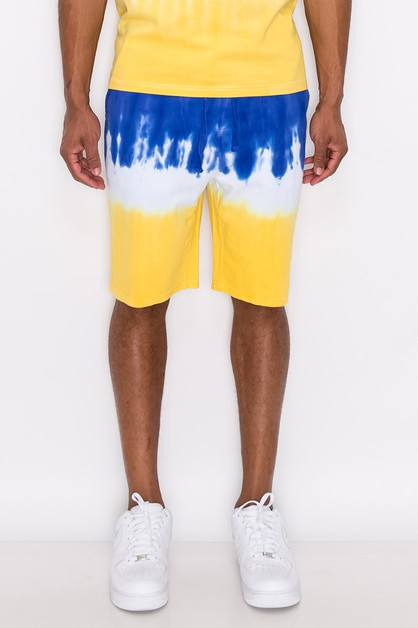 MEN TIE DYE SHORTS - orangeshine.com