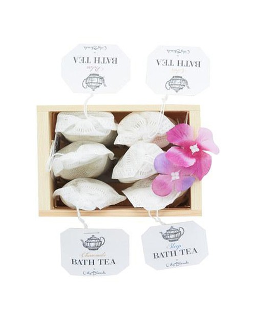 Bath Tea Six Pack Sampler - orangeshine.com