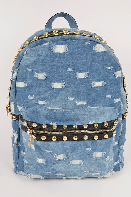 Lovely Jean Inspired Backpack - orangeshine.com