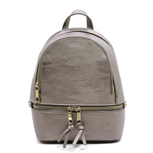 Fashion Zipper Classic Backpack - orangeshine.com