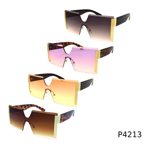 Big Square  Women Men Sunglasses  - orangeshine.com