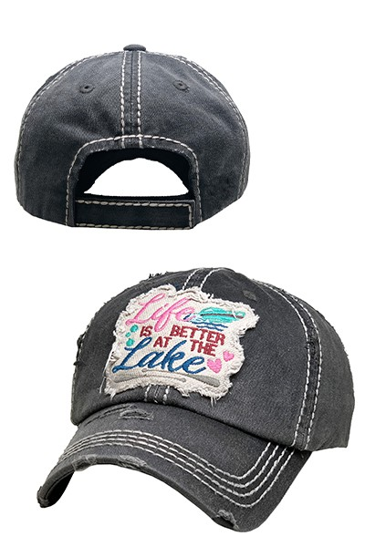 Life Is Better At The Lake Hat - orangeshine.com