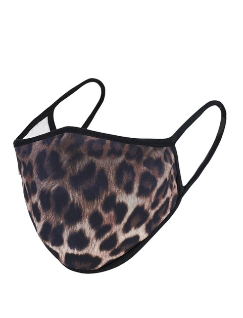 Animal Leopard Print  Mask - orangeshine.com