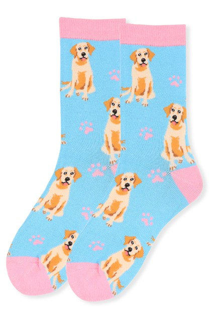 Womens Novelty Retriever Socks - orangeshine.com