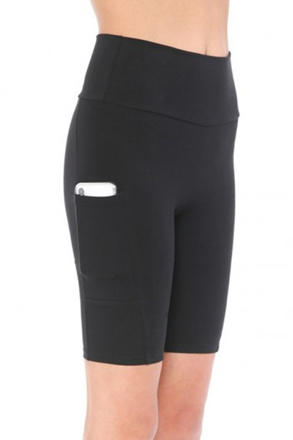 Legging Bike Shorts High Waist - orangeshine.com