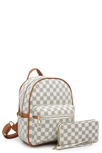 2 IN 1 MONOGRAM BACKPACK - orangeshine.com