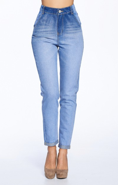 Moms Jeans High Waist - orangeshine.com
