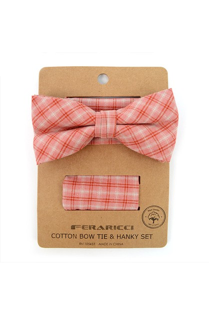 Mens  Bow Tie and Pocket Square - orangeshine.com