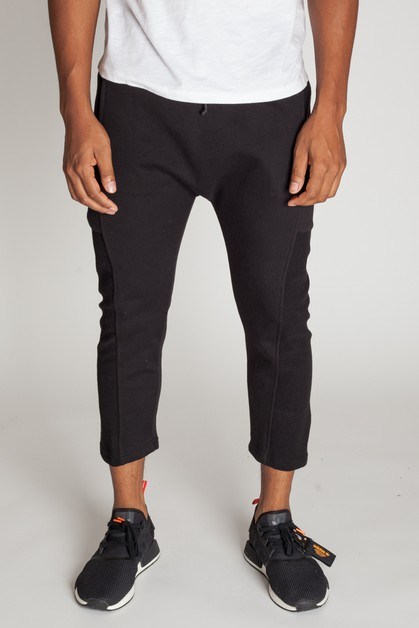 CROPPED SLOUCHY SWEATPANTS - orangeshine.com