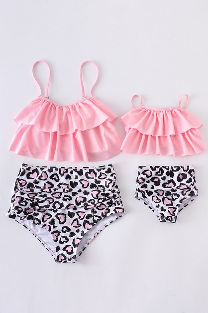 Purple floral pom pom 2 pcs swim bat - orangeshine.com