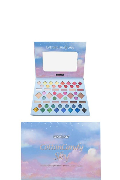 OKALAN COTTON CANDY SKY SHADOW PALET - orangeshine.com