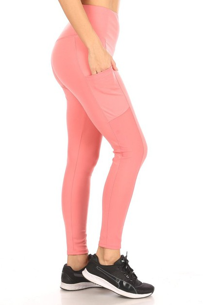Mesh Tummy Control Sculpting legging - orangeshine.com