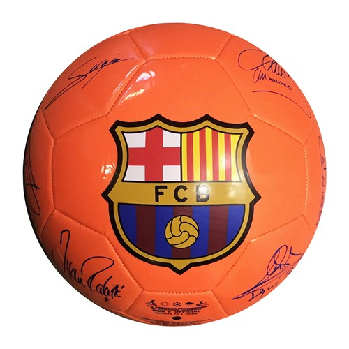 FC BARCELONA CLUB SIZE 5 SOCCER BALL - orangeshine.com