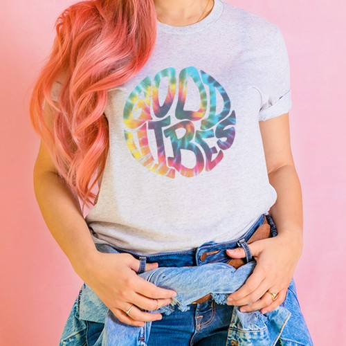 Good Vibes Tie Dye - orangeshine.com