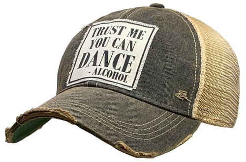 Trust Me You Can Dance Trucker Hat - orangeshine.com