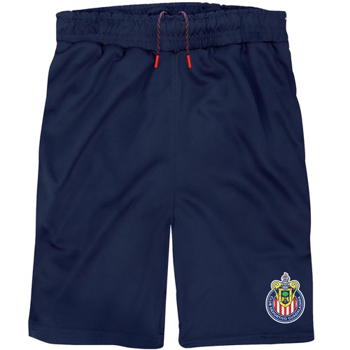 BOYS CLUB LOGO ACTIVE TRACK SHORTS - orangeshine.com