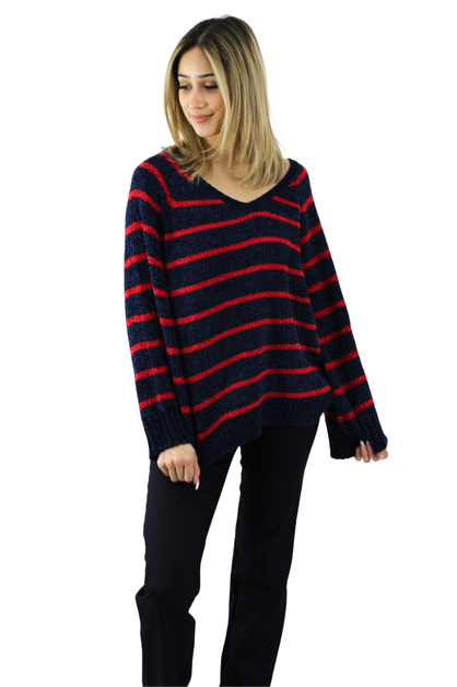 Wide Neck Sweater - orangeshine.com