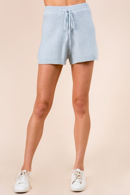 Spring Sweater Shorts - orangeshine.com