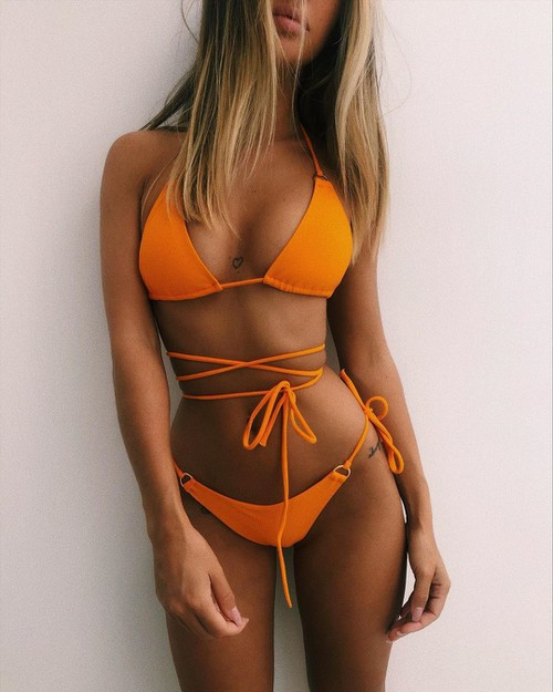Sexy Swimwear Bikini 2pcs Set - orangeshine.com