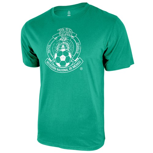 MEXICO NATIONAL TEAM LOGO PRINT TEE - orangeshine.com
