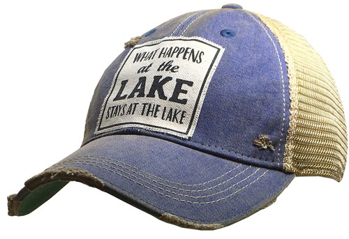 What Happens At The Lake Stays Hat - orangeshine.com