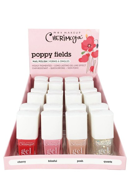 24-pc Poppy Fields Nail Polish Set - orangeshine.com