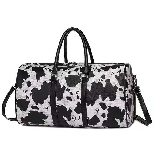 Cow print Weekender bag - orangeshine.com