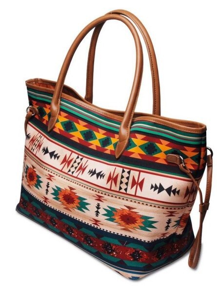 Aztec tribal Weekender bag - orangeshine.com